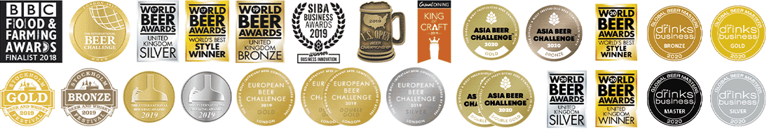 A small seletion of the awards we've won at Big Drop