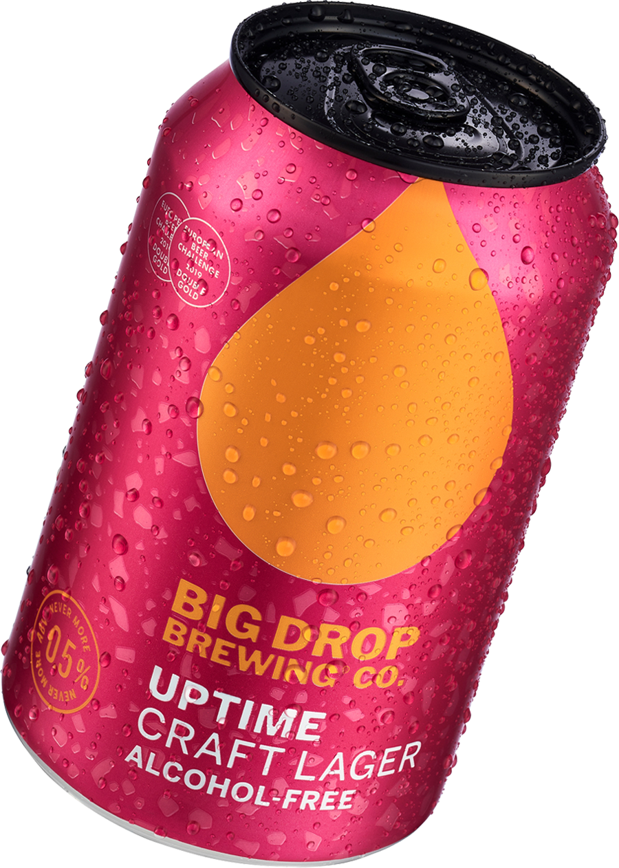 Uptime - Craft Lager | Big Drop