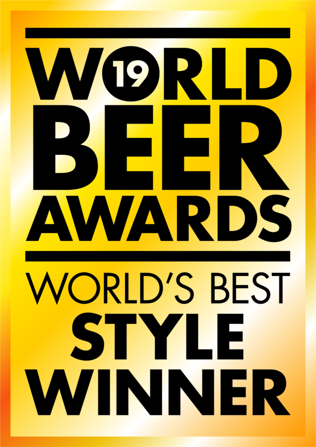 An image of the award won by our Woodcutter Brown Ale