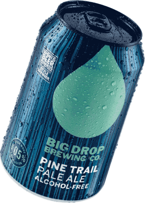 Big Drop Pine Trail Pale Ale - Alcohol free pale ale