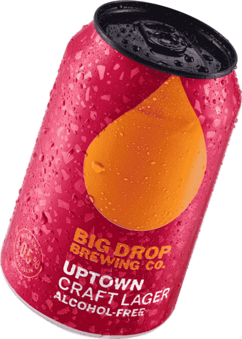 Big Drop - Uptown Craft Lager - Alcohol free lager