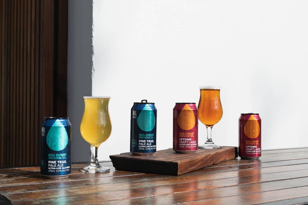 Big Drop beers, now available in Australia
